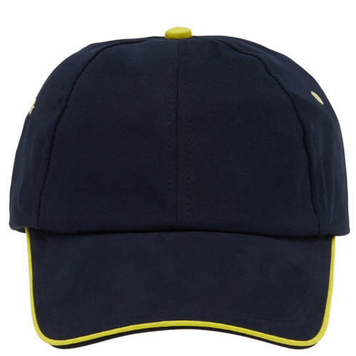 0a23b28580b Swiss Connection Contrast Cap (Navy Blue With Yellow Piping)