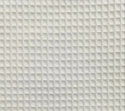 White Waffle Fabric for Garment