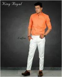 Formal Wear Multicolor Mens Casual Shirts