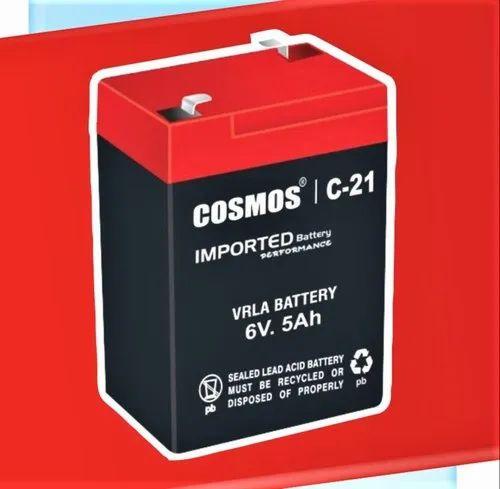 Cosmos C 12 6v 5ah Vrla Battery