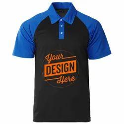 Custom Mens Collar T Shirt