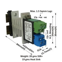 8AMP MODEL 807 DC TO AC SOLID STATE RELAY