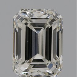 Emerald Cut CVD Diamond 2.00ct H VS2 IGI Certified