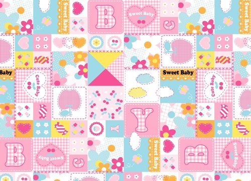 Nurseey designs PVC Nursery Prints For Mother Bags, GSM: 0.145 to 0.250 gms