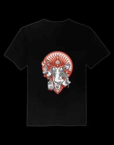 0a6858e2 Cotton Half Sleeves Custom Printed Graphic T Shirts, Rs 450 /unit ...