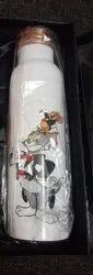 Tom & Jerry Digital Print Copper Bottle