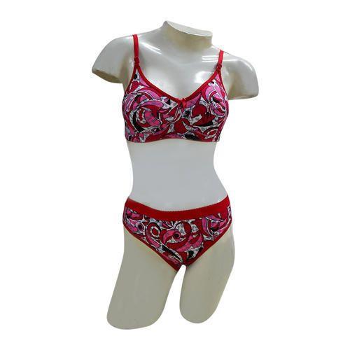 3c5d015fb9 Regular Cotton Bra Panty Set