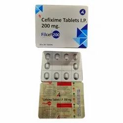 Cefixime Tablets  I.P. 200 mg