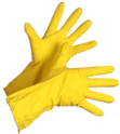 Yellow Hand Gloves
