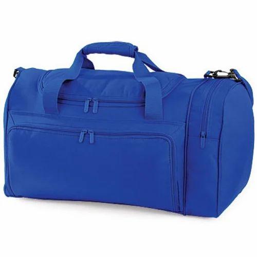 Blue Plain Duffle Bags 188f7203740f