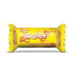 Sunfeast Bounce Pineapple Zing Biscuits