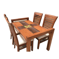 Wooden Brown Dining Table, For Hotel, Restaurant