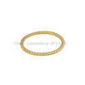 Designer 925 Silver Gold Plated Rings Jewelry Supplier