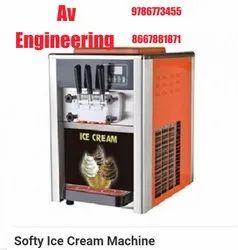 Softy Ice Cream Machine 30 Litres Per Hour