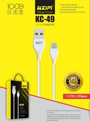 Micro Usb Travel KDM KC 49 Data Cable, Cable Size: 1 Mtr