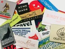 Woven Brand Label, Packaging Type: Packet
