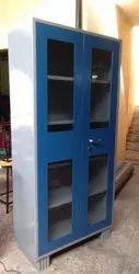 Steel Glass Door Cupboard
