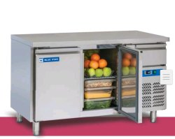 Blue Star 2 Door Under Counter Freezer, Capacity: 313 Ltr