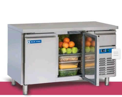 Blue Star 2 Door Under Counter Freezer, Capacity: 313 Ltr