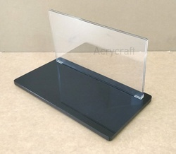Acrylic Advertising Menu Holders