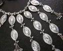 Bib Necklace Vintage Festival Kuchi Charm Banjara Festival Jewelry