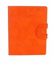 Natural Orange Color With Magnetic Flap