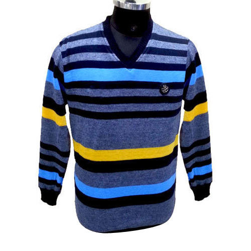 03da9210d Catfish Mens Striped Sweater