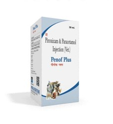 30 ml Piroxicam And Paracetamol Injection (Vet)