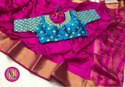 Pure Tusser Silk saree
