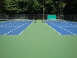 Tennis Court Construction Service 5 Layer