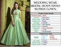 Thankar heavy Wedding Wear Bridal Heavy hand Women Gown