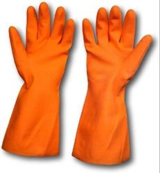 Rubber Hand Gloves, for Construction/Heavy Duty Work