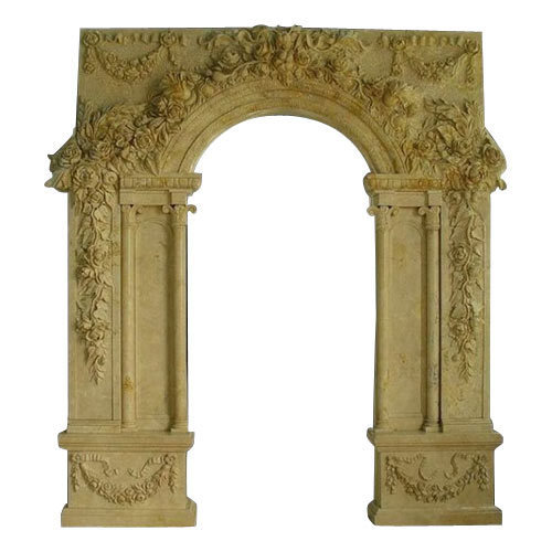 Designer Stone Door Frame at Rs 95 /square feet | Stone Door Frame ...