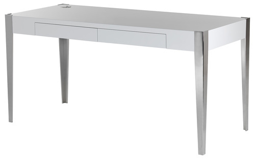 Fibre With Stainless Steel Stainless Steel Desks Id 7906569730