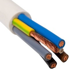 Copper Round PVC Insulated Flexible 6 Core Cable