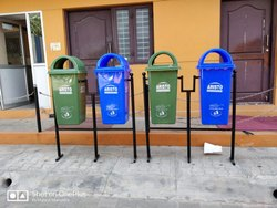 Wheeled Pedal Dustbins