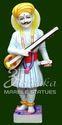 Marble Saint Tukaram Maharaj Statue