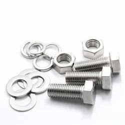 MS Hex Bolt,Nut,Plain Washer & Spring Washers