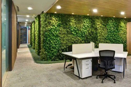 Artificial vertical garden at rs 300 square feet - Fiu interior design prerequisites ...