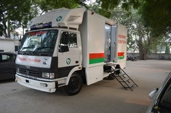 Mobile Monkey Sterlization Van / Mobile Operation Theater