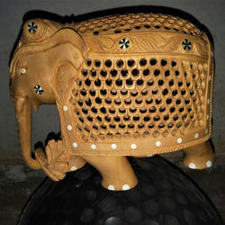 Wooden Decorative Elephant
