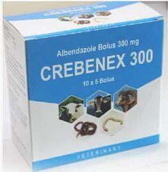Crebenex 300 (Albendazole 300 mg bolus)