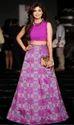 Female Function Wear Fire Purple Lehenga In Banglory Silk Oro L-52
