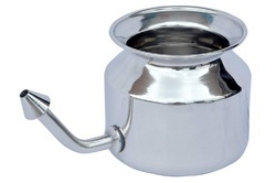 Stainless Steel Neti Pot NJO-8002