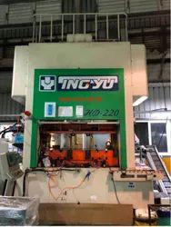 414 V 3 Phase USED PRESS MACHINE, Model Name/Number: Ingyu Hd220, Capacity: 220 Ton