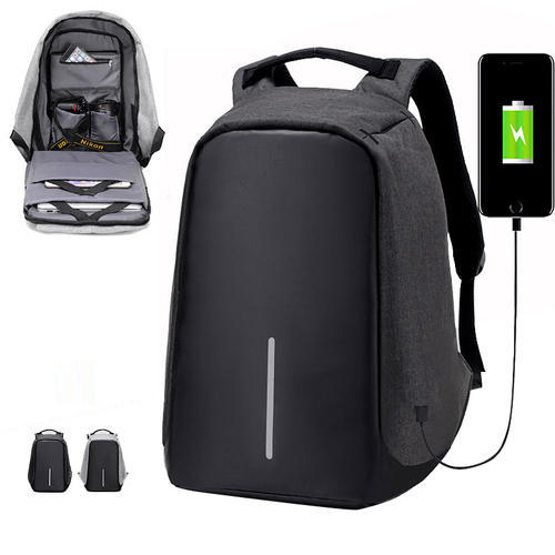 d4fe39e9f536 43cm Anti Theft Backpack With Usb Charging Port For Men