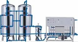 H2O Scientific Fully Automatic Stainless Steel Pure Water Treatment Plant