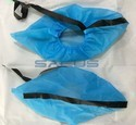 Shoe Covers With Conductive Strip