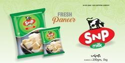 SNP Dairy Fresh Paneer, Packaging Type: Pouch