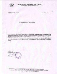 Performance Certificate (APPL)